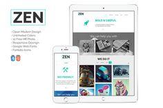 ZEN - Multipurpose HTML Theme  @creativework247