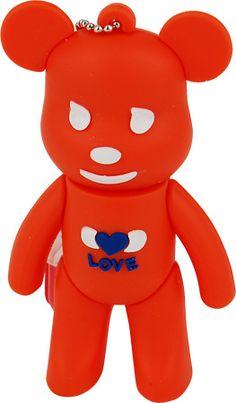 Memoria Mooster  USB 8GB TOONS orange  bear mx 105 #iphone #blogtecnologia #tecnologia