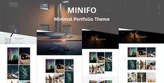 Minifo - Minimal Portfolio WordPress Theme by HasTech Minifo is Minimal Portfolio WordPress Theme. Minifo can be used for minimal portfolios, agencies, freelancers, designers, develope
