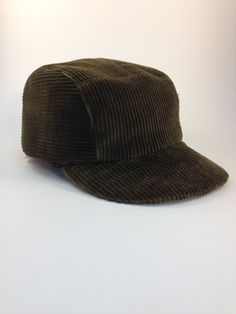 46d5a28269a Fitted Corduroy Baseball Cap Men s Accessories