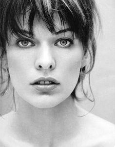 Milla Jovovich (born Milica Jovović (December is an American model, a. - Milla Jovovich (born Milica Jovović (December is an American model, actress, musician, a - Milla Jovovich, Beautiful Eyes, Most Beautiful Women, Beautiful People, Art Visage, Beauty And Fashion, Photo Portrait, Jolie Photo, Black And White Portraits