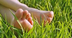Experts believe that it's healthy to go barefoot. This summer take a barefoot walk in your yard. It's time for you to walk barefoot for your health! Walking Barefoot, Going Barefoot, Summer Feet, Varicose Veins, Female Feet, Diabetes Care, Bare Necessities, Feet Care, Healthy Summer