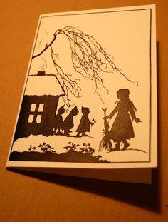 greeting card. Johanna Beckmann edition. limited print run of 99 copies.