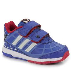 Tênis Adidas Dy CF Spider-Man B39975 Tam 18 ao 25 - Azul