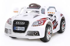 Tigris Wholesale White New Coupe Roadster - 12V Kids' Electric Ride On Car - Availability: in stock - Price: £129.99