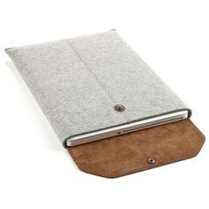 Laptop sleeve grey | Graf & Lantz | Sewing things | Pinterest