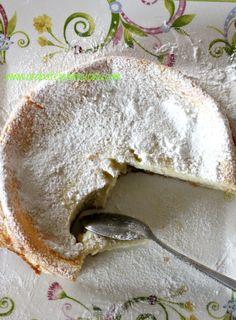 Cake ... impossible , coconut and lemon ( without yeast ) - Torta...impossibile, al cocco e limone (senza lievito) - Arabafelice in cucina