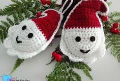 Christmas ornament: Santa pattern