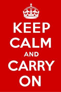 """¿De dónde proviene el logo """"Keep Calm and…"""" que tan de moda está?"""