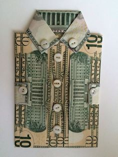 Origami Money Flowers, Money Origami, Best Gifts For Men, Cool Gifts, Money Creation, Creative Money Gifts, Origami Paper Folding, Prank Gifts, Dollar Bill Origami