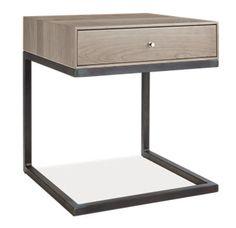 Charlie: Hudson C-Table/Nightstand - Nightstands - Bedroom - Room & Board
