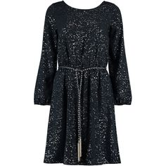 We are pretty certain that this is the ultimate winter party dress from Nooki Design. Crafted in Baltic Polyester and printed with our constellation design. This dress has long sleeves, and is elasticated at the waist to create an elegant a-line silhouette. It finishes just on the knee and comes with a plaited silver and navy belt which as a delicate fringe detail on the end. Our model wears a size S.