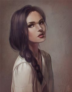Mare Barrow --- idk I just kinda picture her a bit younger and her features are not that define ...
