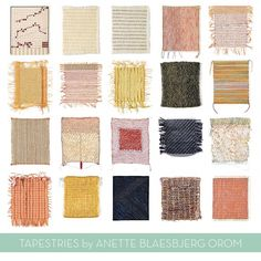 tapestries by Anette Blaesbjerg Orom