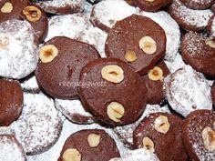 receptyywett : Kakaové kolieska s lieskovcami
