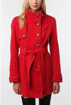 BB Dakota Romaine Belted Coat - StyleSays