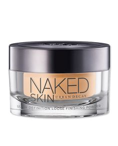 Flawless Finish: The Best Products For a Makeup-Free Look - Urban Decay Naked Skin Loose Powder from #InStyle