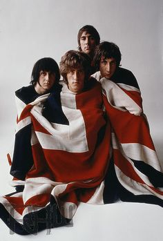 The Who 1968   Photo - Art Kane.   Ordered their early singles from England...couldn't wait