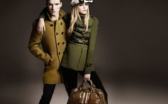 Seriously, I would do almost anything for that coat and bag. This is one of Burberry's best Fall collections EVER.