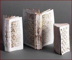 3 Part Book Set #1, 2012 by Artist Christian Burchard