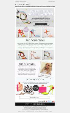 Harvey Nics #email #design