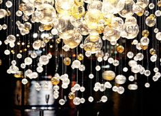Bubble in Space by Jitka Kamencova Skuhrava via LASVIT lighting collections