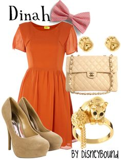 Dinah from Alice in Wonderland by DisneyBound