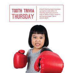 Save a knocked out tooth! Follow this advice and call us ASAP! - Healthy Smiles Happy Teeth | Santa Fe NM | www.childs2thdr.com