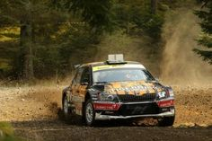 Skoda Fabia R5 rally car - British Rally Championship