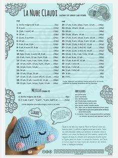 Crochet Letters Pattern, Easy Crochet Patterns, Crochet Patterns Amigurumi, Crochet Designs, Crochet Dolls, Crochet Stitches, Bead Crochet Rope, Diy Crochet, Crochet Baby