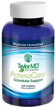 AdrenaCare™ Glandular contains ashwagandha, schisandra, rhodiola and ginseng, which are adaptogens that can aid the body in the stress response. Adaptogens contain heat shock proteins that enable living beings to adapt to stress. Our bovine glandular and adaptogen blend may calm the body, improve energy levels, decrease fatigue