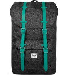 Herschel Supply Co. Speckle/Teal Rubber Little America Backpack | HYPEBEAST Store