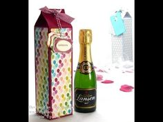 ▶ Stampin Up Champagne Box Tutorial - YouTube