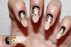 Fun Gradient With Polka Dots