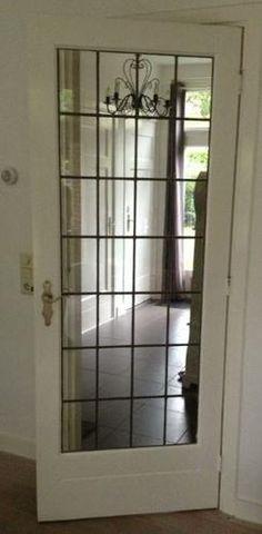binnendeur met glas - Google zoeken