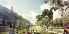 Designed by ASPECT Studios in New South Wales,Australia ASPECT Studios, in collaboration with Choi Ropiha Fighera, Barbara  Flynn Grounds, ARUP, Deuce Design and People for ...