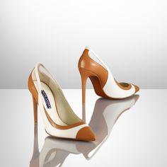 Cemissa Calfskin Pump - Ralph Lauren Collection Collection Shoes - RalphLauren.com
