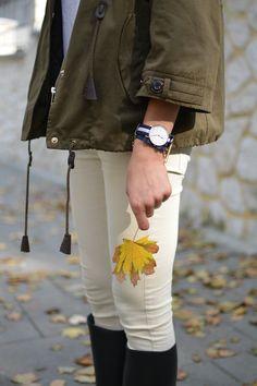 blog.stabrawa - stylizacja: parka + kalosze, czyli mój jesienny zestaw