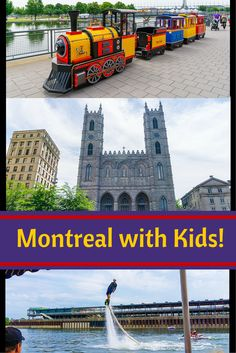 Tips on travel in Montreal, Quebec with kids, including Old Montreal, Vieux-Port, and a boat ride! Canada fun.