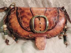 Hippie bag New Remake from my 1970s pattern. by RoundOakLeather, $182.00