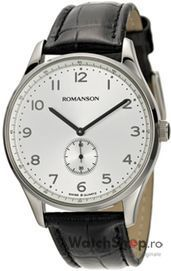 Ceas Romanson CLASSIC TL0329D MW-WH - WatchShop.ro va ofera ceasuri de mana originale Romanson pentru barbati. Rezistenta la apa 3 atm, stropiri minore. Recomandat tinutelor office, casual, casual de seara.