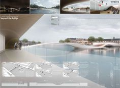 [A3N] : Amsterdam Iconic Pedestrian Bridge Competition Winners (Honorable Mention 04 : Beyond the Bridge ) / Yeonmoon Kim ,Younggyu Lim ( S Korea Student )