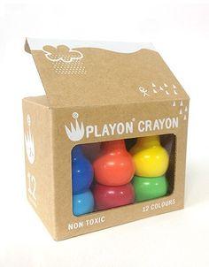 Studio Skinky Playon Crayon Wachsmaler Bunt