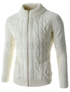 (TNC03-WHITE) Knit Cardigan
