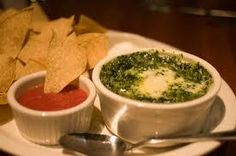 Houston's Spinach and Artichoke Dip courtesy of Houston's Restaurant