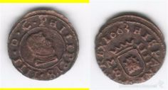 FELIPE IV: IIII MARAVEDIS 1663 MADRID - S (Numismática - España Modernas y Contemporáneas - De Reyes Católicos (1.474) a Fernando VII (1.833))