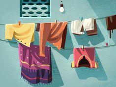 Drying it out by ranganath krishnamani #Design Popular #Dribbble #shots