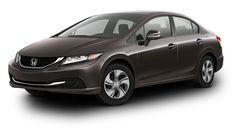 2013 Honda Civic in Urban Titanium Metallic
