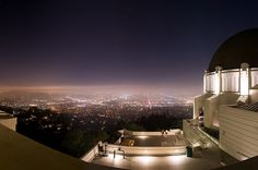 griffith park observatory, CA