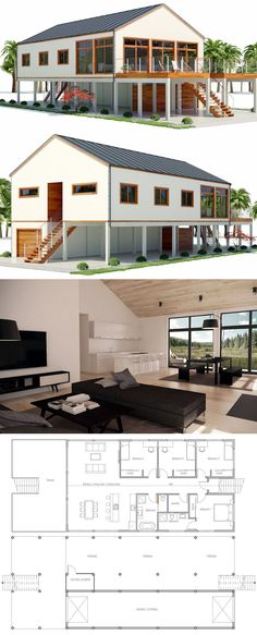 beach house plan